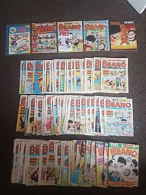 Job lot of Beano Comic's (approximately 100) 1989 to 2003