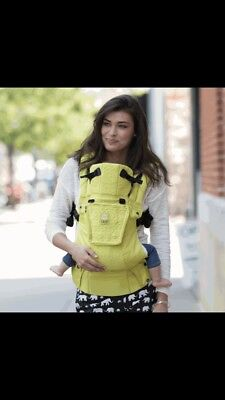lillebaby Complete Embossed 6-in-1 Baby Carrier, Yellow