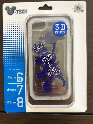 Disney Parks Epcot Food And Wine Festival 2018 3-D iPhone Cover 8/7/6s