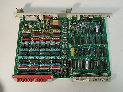 Amat Applied Materials Analog Output Circuit Board / Card / Module W/ Gold Ic