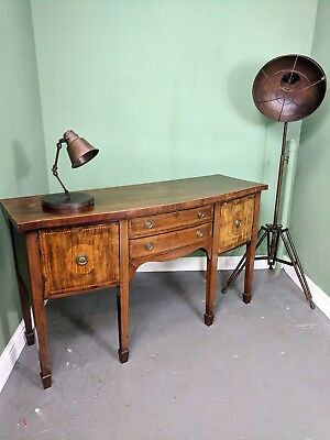 An Antique Victorian/Edwardian Bow Fronted Sideboard ~Delivery Available~