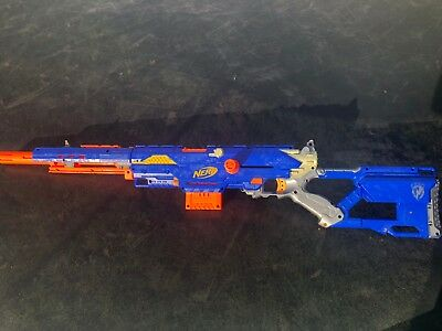 Nerf N-Strike Longstrike CS-6 - With Attachments and Darts