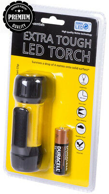 AA Car Essentials Extra Tough Torch Including Duracell Batteries