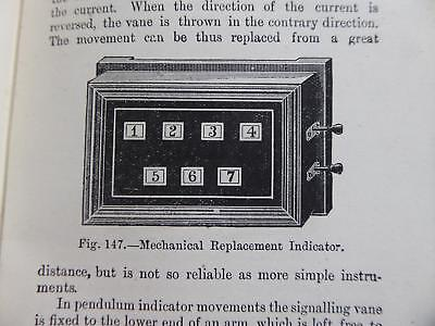 1901 ELECTRIC BELLS BUTLER CALL BOXES INDICATORS BOOK FOR HOMES & ESTATES vgc bk