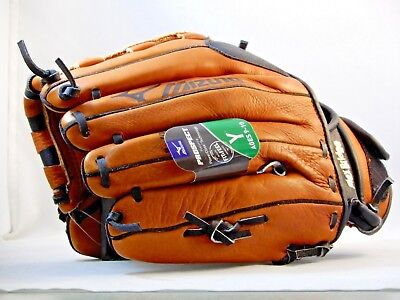 "Mizuno GPL1150Y1RG Prospect Baseball Glove Youth/Kids 11.5"" RHT Leather NEW"