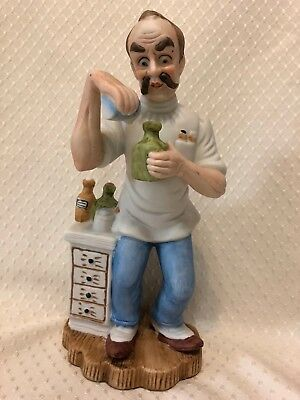 "Duncan Royale, Pharmacist, 9"", collectible"