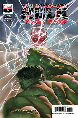 Immortal Hulk #6 Alex Ross or Brent Schoonover Cosmic Ghost Rider Cover *SALE*