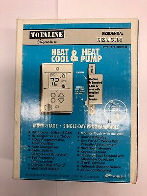 Totaline Residential Thermostat P374-1000FM Multi-Stage/ Single Day Programmable