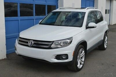 Volkswagen Tiguan SEL Repairable Rebuildable Salvage Runs Great Project Builder Fixer Easy Fix Save