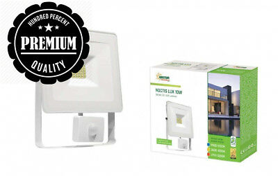 Spectrum Noctis Lux 10w LED Flood Light (white, daylight white, PIR)