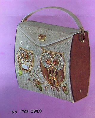 Town & Country Enid Collins Style Handbag Kit Mid-Century to Decorate by Number