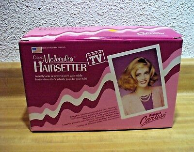 VINTAGE 1980's RICHARD CARUSO MOLECULAR HAIRSETTER (NEVER USED/NIB)