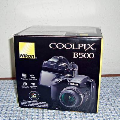 New Nikon COOLPIX B500 16.0MP Digital Camera - Black