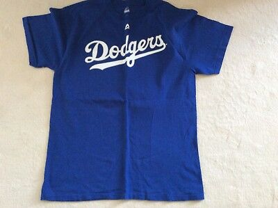 Los Angeles Dodgers LA MLB baseball size L - Puig