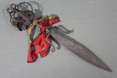 Interesting ritual dagger from Yao people - Indo China, 1st half 20th century
