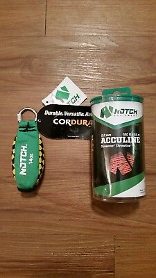 Notch 14 oz weight with 180 ft throwline 2.2 mm Acculine combo New