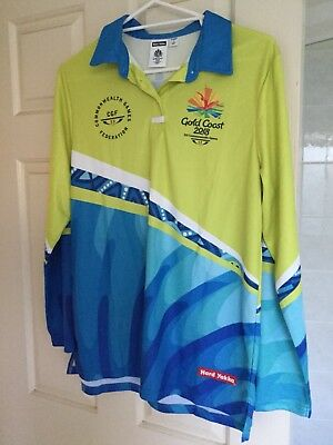 2018 Commonwealth Games Games Shapaer Uniform Womens Top Size Xxl