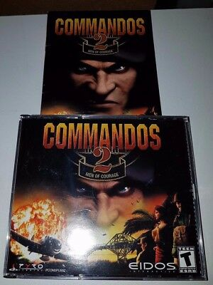 COMMANDOS 2 MEN OF COURAGE PC CD Rom Game