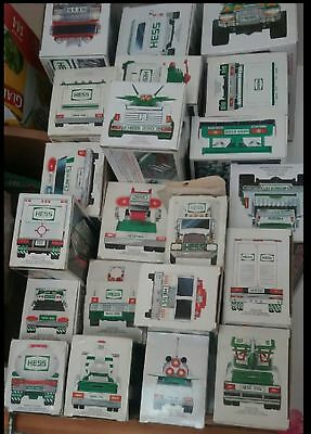 LOT OF 21 Hess Trucks - 1989 1990 1991 1992 1993 and more READ
