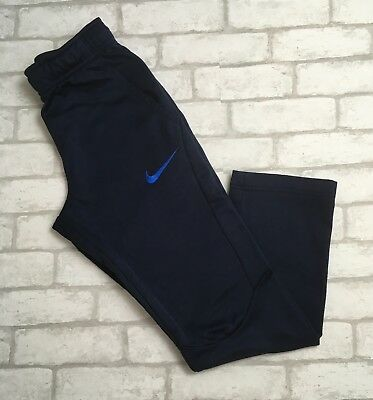 Boy's Youth Nike DRI-FIT LARGE Blue Pockets Athletic Pants Sweatpants