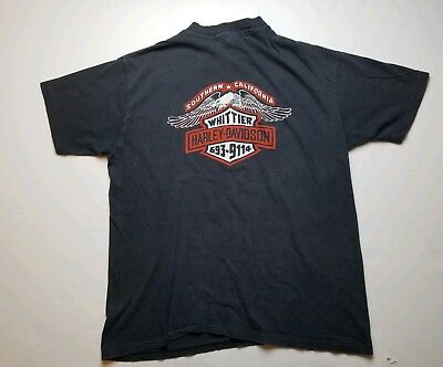 Vintage 80s Harley Davidson T-shirt Everything Else Is un American SoCal...