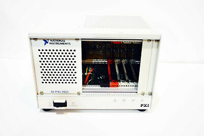 National Instruments NI PXI-1031 4-Slot 3U pxi Chassis p/n 190871D-01