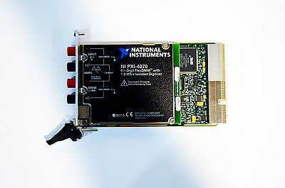 National Instruments Ni PXI-4070 6½ -digit, ±300 V , an Bord 1.8 Ms / S Iso Zahl