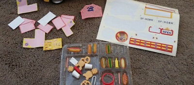 Calico Critters Hot Dog Van replacement parts pieces See pics!!!