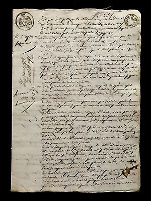 Authentic Manuscript Document 1853