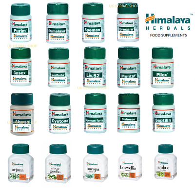 Himalaya Herbals - Food Supplements,speman,purim,abana,rumalaya,cystone,gasex