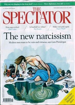 THE SPECTATOR MAGAZINE 11th AUGUST 2018 ~ NEW ~