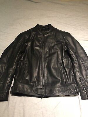 richa leather motorcycle jacket,retail Price Over £200 Which I Paid For