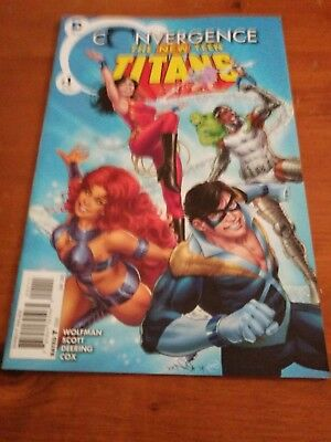 The new teen titans Convergence #1