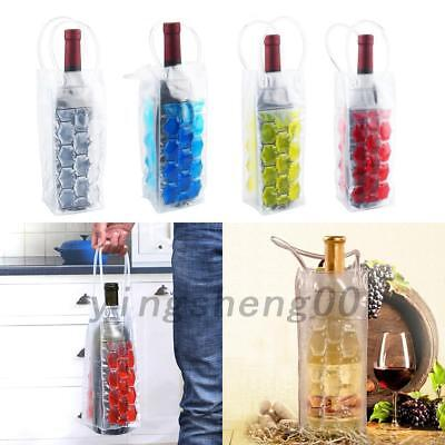 Wine Bottle Gel Chill Cooler Ice Bag Carrier Beer Party Carrier Travel Case NEW