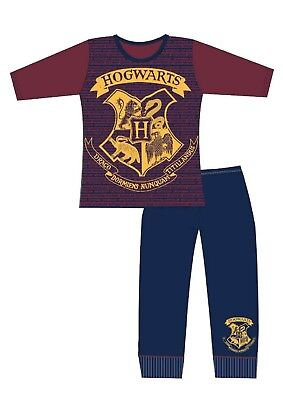 Girls Harry Potter Pyjamas Harry Potter Pyjamas Hogwarts