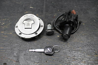 2006 2007 HONDA Cbr1000Rr Oem Ignition Lock Key Set W/ Gas Cap And