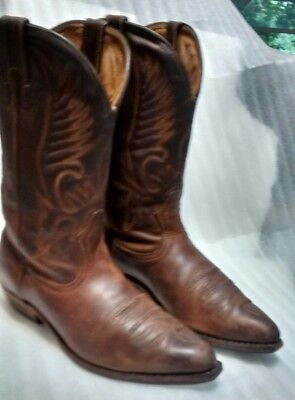 5286dd6d7d8 BOULET COWBOY BOOT Men's US Size 9 E. made in Canada.