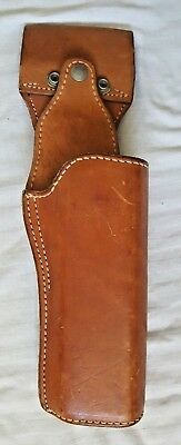 Tex Shoemaker & Sons Vintage Brown Leather Holster Model 37PPC