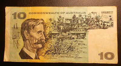 $10 Commonwealth of Australia banknote Phillips/Wheeler TAX 656391