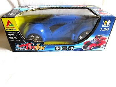 Thunder FireFox Simulation Electric Car,Scale 1:24 ,Sounds&Lights,Batteries Oper