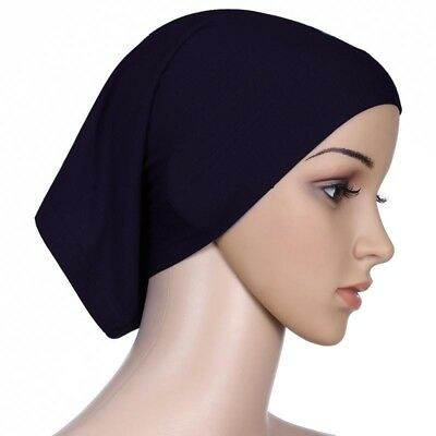 NEW Women Ladies Under Scarf Hijab TUBE BONNET Bone Cap Band Premium Quality