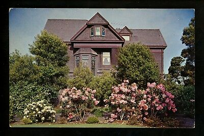 California CA postcard Fort Bragg, Guest House of Union Lumber Co. chrome