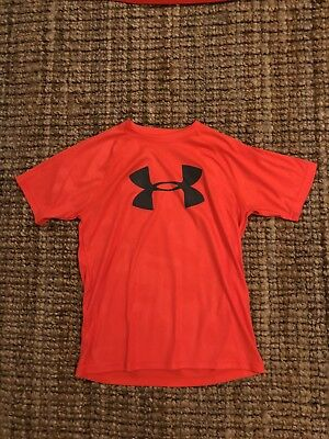 Under Armour T Shirt Heat Gear Size Youth Large