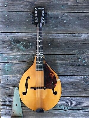 "Gibson Mandolin""1941""Kalamazoo KM12 Maple"" Very nice"