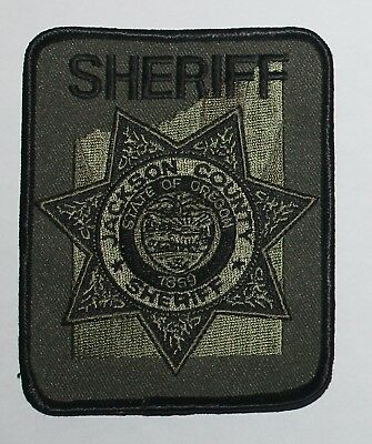 JACKSON COUNTY SHERIFF Oregon OR Co SD SO Tactical Subdued SWAT OR patch