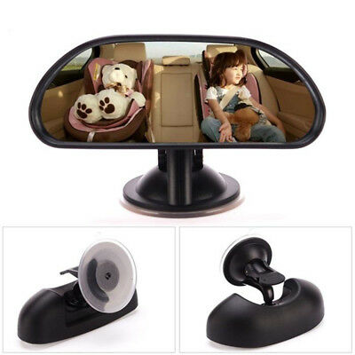 Adjustable Baby Car Back Seat Mirror Rear Facing View Infant Child Safety US
