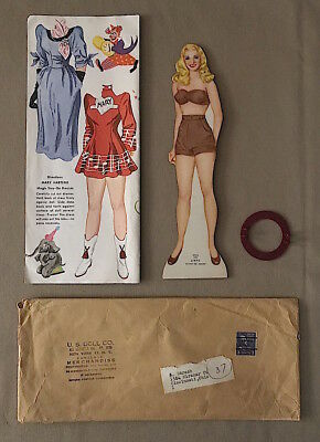 Vintage 1950s MARY HARTLINE Super Circus KELLOGG'S Paper DOLL Set  * UNUSED *
