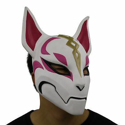 New Fox Drift Mask Halloween Costume Latex Mask Party Cosplay Props Sale Hot