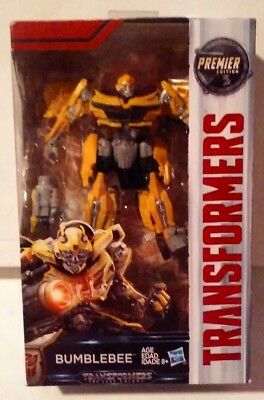 Transformers The Last Knight Premier Edition Deluxe Class Bumblebee New MISB