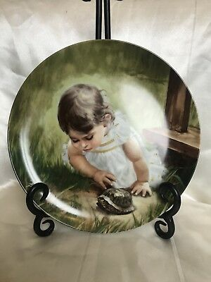 Donald Zoland Backyard Discovery Collectors Plate With Paperwork